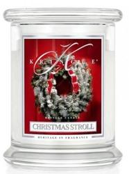 Kringle Candle Słoik średni Christmas Stroll 411g