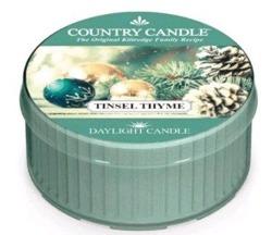 Kringle Candle daylight Świeczka zapachowa Tinsel Thyme 42g