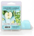Kringle Country Candle 6 Wax Melts Wosk zapachowy -  Cilantro, Apple& Lime