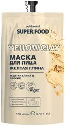 Le Cafe Mimi Super Food Maska do twarzy z żółtą glinką 100ml