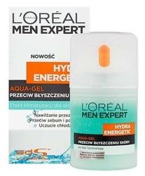 Loreal Men Expert Hydra Energetic Aqua-Gel przeciw błyszczeniu skóry 50ml