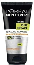 Loreal Men Expert Pure Power Peeling-żel do twarzy 150ml