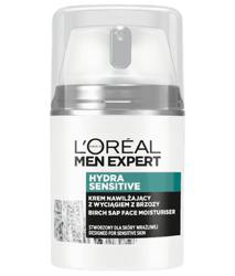 Loreal Men Hydra Sensitive Wzmacniający krem nawilżający dla mężczyzn 50ml