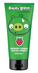 Lumene Angry Birds Raspberry Shampoo, Szampon do włosów z ekstraktem z arktycznej maliny, 200ml