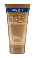 Lumene Natural Bronze Shimmering BB Body Lotion - Rozświetlająco – brązujący balsam do ciała BB, 150 ml