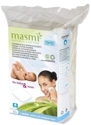 MASMI Kwadratowe płatki do demakijażu z organicznej bawełny 60szt
