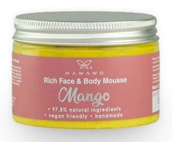 MAWAWO Bogaty mus do twarzy i ciała Mango 150ml