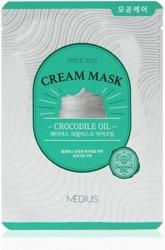 MEDIUS Cream Mask Crocodile Oil Maska do twarzy w płachcie 25ml