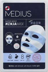 MEDIUS Ninja Mask Aqua Blue Maska w płachcie 33ml