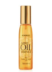 MONTIBELLO Gold Oil Essence - Amber&Argan Oil Bursztynowo-arganowy olejek do włosów 130ml