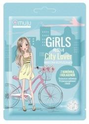 MUJU Girls City Lover Maseczka oczyszczająca w płachcie 1szt.