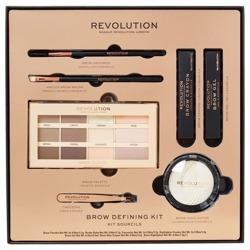 Makeup Revolution Brow Defining Kit Zestaw do stylizacji brwi