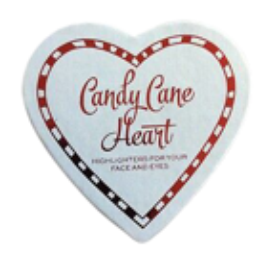 Makeup Revolution Candy Cane Heart Rozświetlacz do twarzy