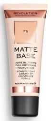 Makeup Revolution Matte Base Foundation Podkład matujący F5 28ml