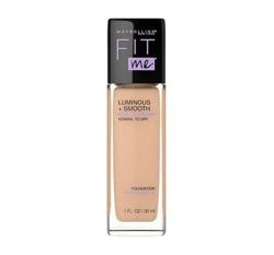 Maybelline Fit Me Luminous + Smooth Foundation Rozświetlający podkład do twarzy 125 Nude Beige 30ml