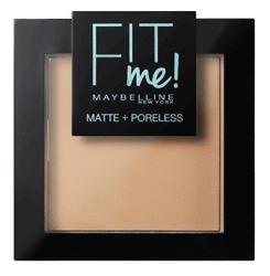 Maybelline Fit Me Pressed Powder Puder dopasowujący się do skóry 220 Natural Beige 9g