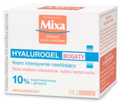 Mixa Hyalurogel Krem intensywnie nawilżający 50ml