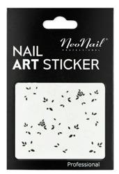 NEONAIL Naklejki na paznokcie Black&white  2804-20