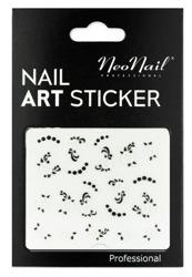 NEONAIL Naklejki na paznokcie Black&white  2804-27