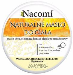 Nacomi Naturalny balsam do ciała z masłem shea, olejem macadamia i olejkiem pomarańczowym 200ml