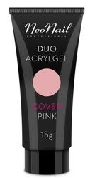 Neonail Duo Acrylgel Cover Pink Żel do budowania i przedłużania paznokci 15g