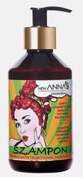 New ANNA RETRO Szampon do włosów z naftą kosmetyczną, ekstraktami z pokrzywy, skrzypu i tataraku 300ml