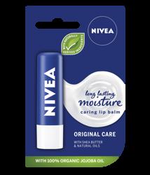 Nivea moisture caring lip balm Ochronna pomadka do ust 4,8g