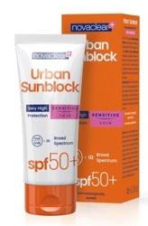Novaclear Urban Sunblock SPF 50+ Ochronny krem do twarzy do skóry wrażliwej SENSITIVE 40ml
