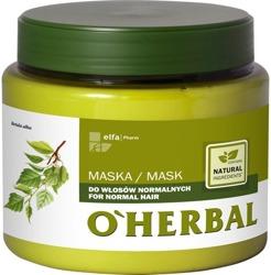 O'Herbal Maska do włosów normalnych z ekstraktem z brzozy 500ml