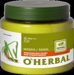 O'Herbal Maska wzmacniająca włosy z ekstraktem z korzenia tataraku 500ml