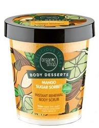 Organic Shop Body Desserts - Regeneracyjny scrub do ciała Mango Sugar Sorbet 450ml
