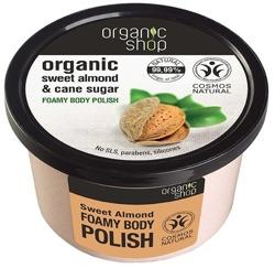 Organic Shop Cukrowa pasta do ciała Słodkie migdały 250ml