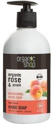 Organic Shop Mydło do rąk z różaną brzoskwinią 500ml