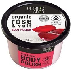 Organic Shop Pasta do ciała Perłowa róża 250ml