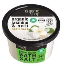 Organic Shop Sól do kąpieli Jaśminowy kaszmir 250ml