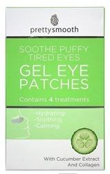 Pretty Gel Eye Patches Soothe Puffy Tired Eyes - Płatki żelowe pod oczy 4pary