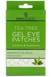 Pretty Gel Eye Patches Tea Tree Płatki żelowe pod oczy 4pary