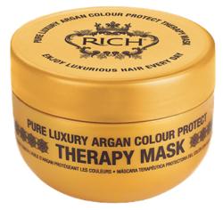 RICH Argan Colour Protect Maska do włosów farbowanych 200ml