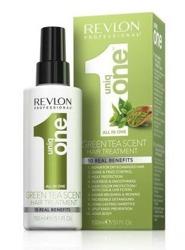 Revlon Uniq One GREEN TEA Hair Treatment Spray Odżywka do włosów w sprayu 150ml