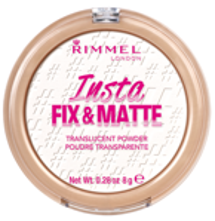 Rimmel Insta Fix & Matte Puder transparentny prasowany 8g