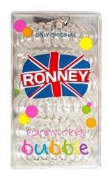 Ronney Funny Ring Bubble Gumki do włosów 6szt Nr 10