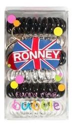 Ronney Funny Ring Bubble Gumki do włosów 6szt Nr 13
