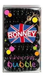 Ronney Funny Ring Bubble Gumki do włosów 6szt Nr 16