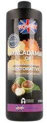 Ronney MACADAMIA Oil Restorative Shampoo Szampon do słabych i suchych włosów 1000ml