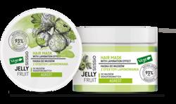 SESSIO Jelly Fruit Maska do włosów niskoporowatych z efektem laminowania Agrest 250g