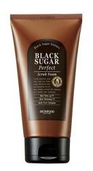 SKINFOOD Black Sugar perfect scrub foam Złuszczająca pianka do twarzy 180ml