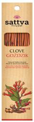 Sattva Clove Kadzidło o zapachu Goździk 30g