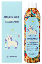 SeaNtree Donkey Milk Waterful Cleansing Foam Pianka do mycia twarzy 250ml