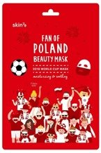 Skin79 Fan Of Poland Beauty Mask Nawilżająco-kojąca Maska Kibica World Cup 2018