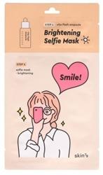 Skin79 Selfie Mask BRIGHTENING Dwufazowa rozjaśniająca maska w płachcie